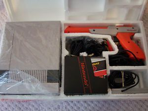 NES Nintendo Entertainment System Action Set Game Console Original Box