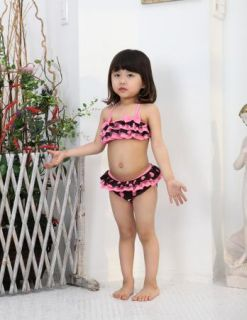 Girls Kids Swimwear Tankini Swimsuit Bikini Bathers size2 8Y Swiming Costume