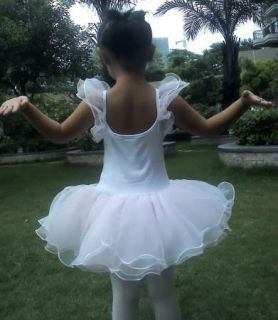 Girls Kids Birthday Party Ballet Tutu Dance Skate Skirt Dress sz2 8Y Costume