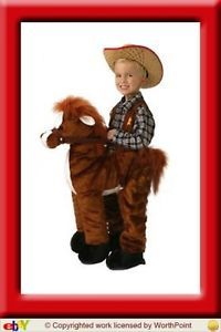 Toddler Ride A Pony Horse Costume Halloween Size 2T 3T
