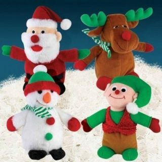 Zanies Holiday Friends Plush Christmas Musical Dog Toy 4 Styles Gift Perfect
