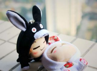 Yoyocici Stuffed Animal Plush Soft Toy Costume Bunny