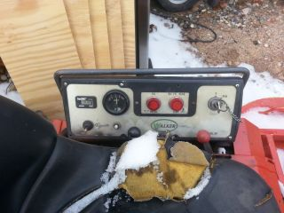 Walker Mower MTGHS Dash Board Control Panel