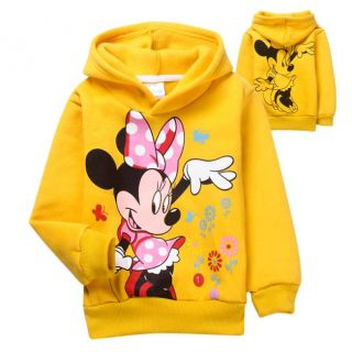 Minnie Mouse Sweet Kids Baby Toddlers Girls Hoodies Fleecedcoat Costume 4 5years