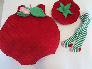 Children's Place Strawberry Infant Costume Halloween Baby