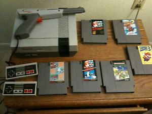 Original Nintendo NES Classic Retro Video Game Console Games Super Mario Bros