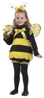 Bumble Bee Baby Costume Infant Honey Wasp Hornet Insect