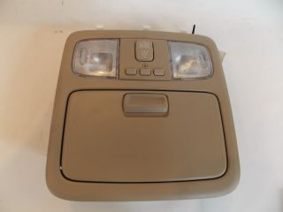 03 Toyota Camry Homelink Sunroof Switch Interior Light Overhead Console 2003 530