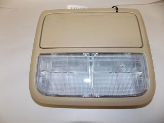 08 09 Honda Accord Sedan Interior Lights Cubby Overhead Console 2008 2009 1417