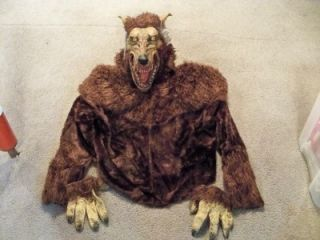 Adult Deluxe Werewolf Mask Complete Costume MR148106