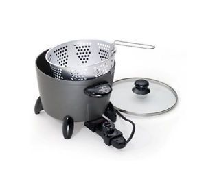 New Presto 06003 Options Electric Cooker Steamer 2DaysShip