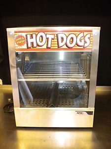 A3 APW Wyott Hot Dog Cooker Steamer Bun Steamer Table Top Vending Display DS 1A