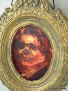 "10x9"" Lenticular Haunted House Portrait 3D Picture Scary Man Halloween Dã©cor"