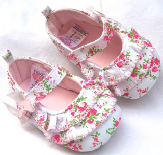 Pink Mary Jane Toddler Baby Girl Shoes Size 2 3 4