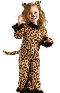Toddler Girls Leopard Kitty Cat Halloween Costume