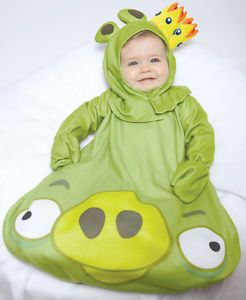Infant Baby Boys Girls Angry Birds King Pig Halloween Costume 0 9 Months