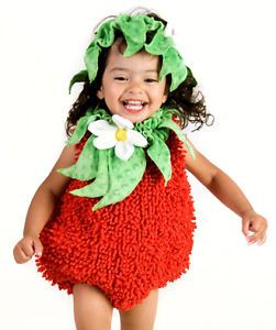 Infant Baby Girls Cute Strawberry Halloween Costume 6 12 Months
