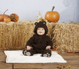 Pottery Barn Kids Baby Bear Halloween School Play Costume 6 12 Months Mos