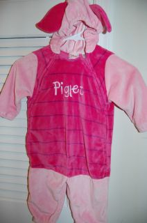 Disney Halloween Costume Baby Toddler 12 18 Months Piglet Pink