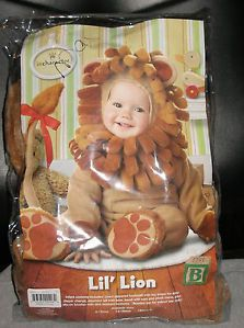 Lil' Lion King Jungle Baby Unisex Halloween Costume s 6 12mo Nice Used Wizard Oz