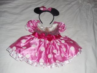 Minnie Mouse Halloween Costume Baby Toddler Girls Size 18 24 Months