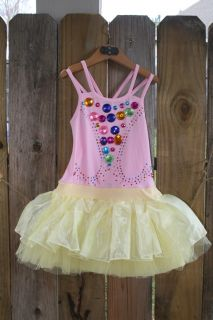 Baby Girl Boutique Clothing Tutu Dress Birthday Pageant Dress Size 4T 5T