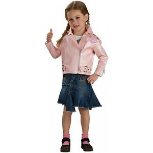 Harley Davidson Pink Jacket Costume Baby Toddler Girls Biker Halloween