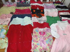 Huge 42pc Baby Girl Fall Winter Clothes Lot 12 12 18 Months Baby Lulu Old Navy