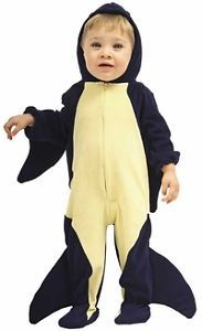 Kids Child Infant Toddler Orca Whale Halloween Holiday Costume Party Size 2T