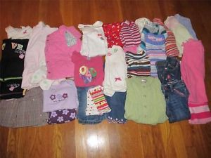32 PC Baby Toddler Girl 12 18 Months Fall Winter Clothes Gymboree Old Navy