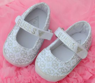 White Mary Jane Toddler Baby Girl Shoes 0 18 Months