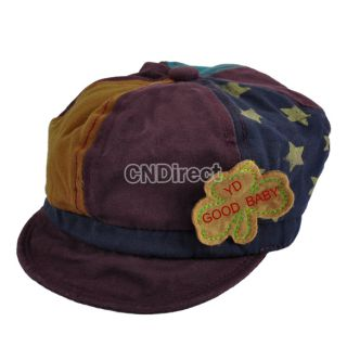 Top Baby Toddler Infants Boys Girls Newsboy Mixed Color Baseball Cap Beanie Hat