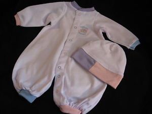 Lee Middleton Doll Baby Newborn Nursery Romper Sleeper Outfit Cap Clothes