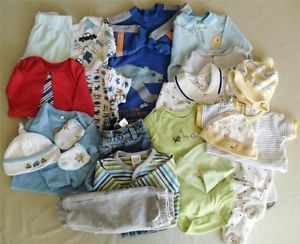 Newborn Infant Baby Boy Clothes Large Lot Baby Baby Gap Circo Vitamins Baby More