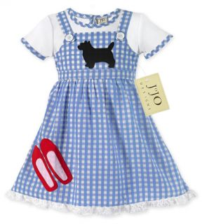 Baby Girl Kids Dorothy Halloween Costume Dress 3M 6M