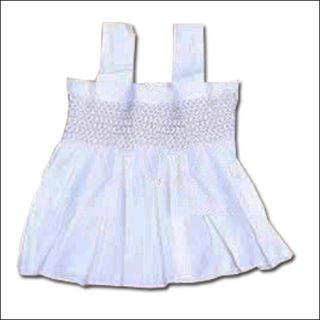 New 3pcs White Baby Girl Kid Outfits clothes costume Dress Pants 6 12 Months B7
