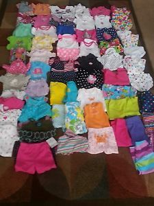 Baby Girls 63 Piece 12 18 Month Clothing Lot Some NWTS So Cute