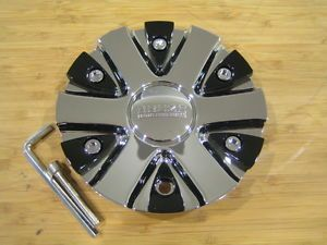 Akuza 712 Big Papi Chrome Wheel Rim Center Cap EMR0712 Car Cap LG0610 53