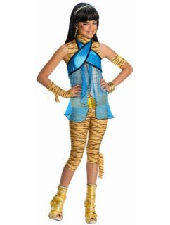 Rubies Cleo de Nile Monster High Girls Halloween Costume Wig Medium