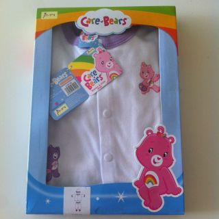 Care Bears Baby Newborn Infant Girl 2 Pieces 0 3M Jumpsuit Clothes Hat