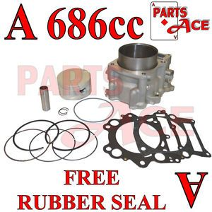 2001 2005 Yamaha Raptor 660 Big Bore Kit 686cc 102mm Cylinder Piston YFM660