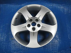 "1 Used Nissan Murano 18"" Silver 2003 2004 2005 Factory Wheel Rim 62420"
