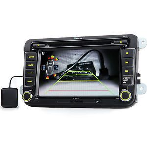 "Volkswagen 7"" in Dash Car DVD Player GPS Nav Bluetooth Touch Screen Stereo Map"
