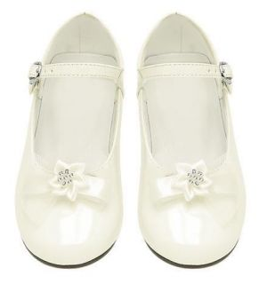 Girls Dress Shoes Wedding Pageant Toddlers Kids Ivory