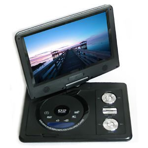 "9"" inch Color TFT LCD Portable in Car Auto DVD Player Game CD VCD  SD TV"
