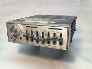 Vintage Tancredi TE100 Car Audio Stereo Equalizer Booster Works Ford Chevy Mopar