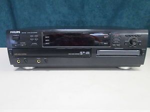 Philips CDR 785 3 CD Disc Changer and CD Recorder No Remote