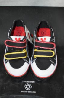 Toddler Boy's Mickey Mouse Canvas Sneaker