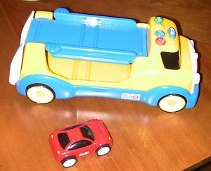 Bao Talk Teach Transport Car Carrier Toy with Red Car Only not Complete Parts