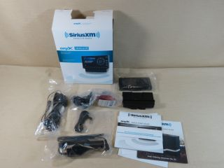 New Sirius XM Onyx Satellite Radio Dock Play Vehicle Kit XDNX1V1 Open Box FM Aux